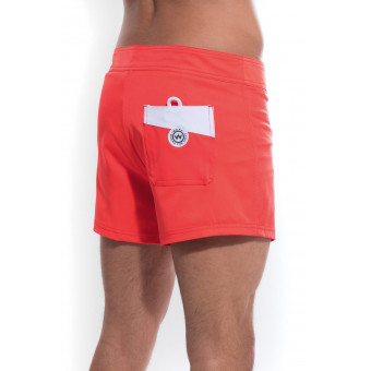 "Short de Bain Homme ""Chill Rouge"" - Waxx"
