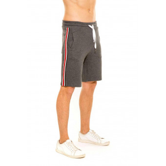 Short Survêtement Homme Anthracite JOHNSON