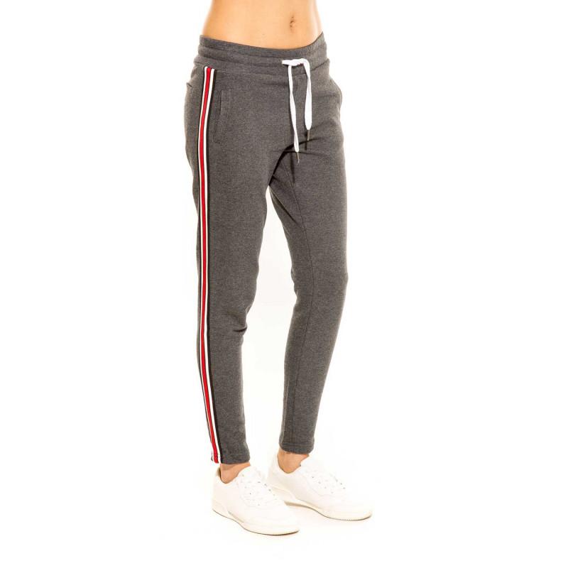 Pantalon Survêtement Femme Gris ANNA