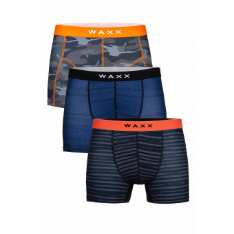 Lot de 3 Boxers Microfibres - All Days